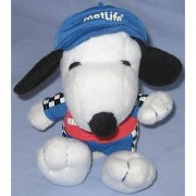 4 Stuffed Snoopy Metlife Pit Crew Outfit