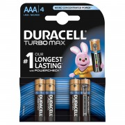 Baterie Duracell Turbo Max AAA LR03 4buc