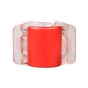 Linziclip Midi Hair Clip Gumičky do vlasov pro ženy Skřipec do vlasů Odtieň - Pearl Brick Red