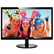 Philips 24 Slim LED 1920x1080 FullHD 16:9 5ms 250cd/m2 10 000 000:1 HDMI, Speakers, VESA, Piano Black