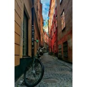 Narrow Alley in Gamla Stan Stockholm, Sweden Journal: 150 Page Lined Notebook/Diary