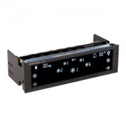 Fan controller Lamptron CM615 Black, LCD touchscreen, conectivitate internet, 5.25inch