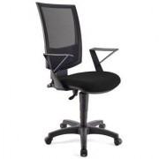 Ofisillas Silla de oficina PANDORA, respaldo ajustable, color negro