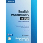 Michael McCarthy English Vocabulary in Use - Upper-intermediate (Third Edition). Book with answers and CD-ROM