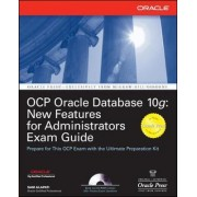 OCP Oracle Database 10g by Sam Alapati