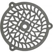 Grille fonte fixe Jardinier Massard - Ronde - Diamètre 110 mm