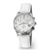 Lacoste 01.7000C.30 - Reloj de mujer de cuarzo con correa de piel blanca