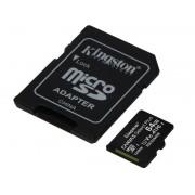 Kingston karta microSDXC 64GB klasa 10 + adapter