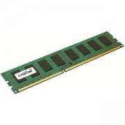 Памет Crucial RAM 4GB DDR3L 1600 MT/s (PC3L-12800) CL11 Unbuffered UDIMM 240pin 1.35V/1.5V Single Ranked, CT51264BD160BJ