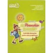 Cu Pinocchio in vacanta Activitati distractive cls pregatitoare - Cleopatra Mihailescu Tudora Pitila