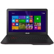 "Laptop Gaming ASUS G551JX-V2-CN088H (Procesor Intel® Quad-Core™ i7-4720HQ (6M Cache, up to 3.60 GHz), Haswell, 15.6""FHD, 8GB, 750GB @7200rpm, nVidia GeForce GTX 950M@2GB, Mini DisplayPort, Tastatura iluminata, Win8.1 64-bit)"
