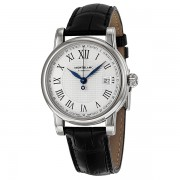Montblanc Star Date Automatic Silver Dial Mens Watch 107114