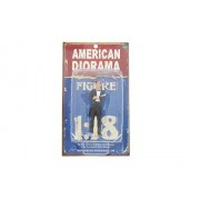 The Robbers Robber I, Black American Diorama 23883 1:18 Scale Hand Painted Diorama Accessory