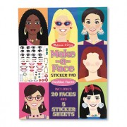 Melissa & Doug Make-A-Face Sticker Pad - 4195