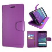 Korean Sonata Wallet Case for Samsung Galaxy Note Edge - Purple