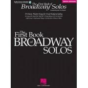 First Book of Broadway Solos Mezzo-Soprano Alto Edition (Boytim) Bk/CD by Joan Frey Boytim