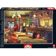 EDUCA 16357 Puzzle Genuine Big sky saloon 6000 bucăţi