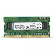 Kingston Technology Kingston KVR13S9S8/4 RAM 4Go 1333MHz DDR3 Non-ECC CL9 SODIMM 204-pin, 1.5V- Coloris Assortis