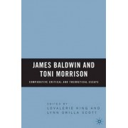 James Baldwin and Toni Morrison by Lovalerie King