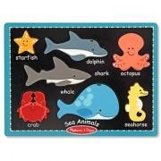 Melissa & Doug First Chunky - Sea Animals