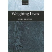 Weighing Lives by John Broome