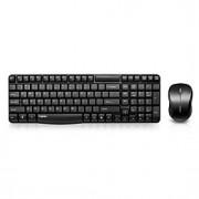 rato Rapoo wireless terno teclado multimídia impermeáveis 104keys teclado ergonômico usb 1000dpi
