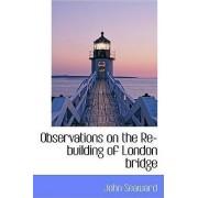 Observations on the Re-Building of London Bridge by John Seaward