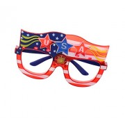 Patriot Pride Spirited Spectacles Flashing Frames - 4th of July Independence Day