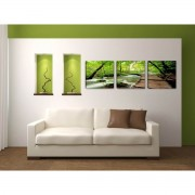 Tablou canvas modern cu maci model BM1P6798-1