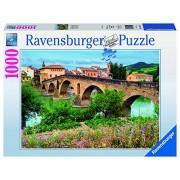 Ravensburger 19425 - Puzzle 1000 Pezzi, Puente de la Reina, Spagna, Cartone