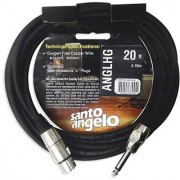 Santo Angelo ANGL HG Straight 1/4-Inch Plug to XLR Female Microphone Cable - 20 Feet
