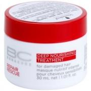 Schwarzkopf Professional BC Bonacure Repair Rescue tratamento nutritivo profundo para cabelo danificado 30 ml