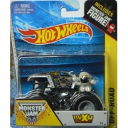 Hot Wheels Monster Jam #4 Off-Road Max-D Includes Monster Jam Figure - Decade of Maximum Destruction by Hot Wheels