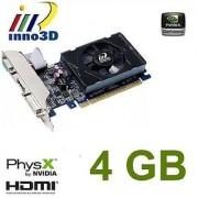 Inno3D Nvidia-Geforce GT 730 4GB DDR3 HDMI DVI VGA video-card PCI-express x16 graphics HD 1080P windows 8/7/vista/XP