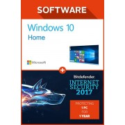 Windows 10 home + Bitdefender Internet Security 2017