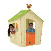 Magic Playhouse gyerek játszóház beige-zöld KETER
