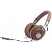 EDNET 83135 :: Слушалки с микрофон AURICLE Grizzly Bear, 40 мм, ретро дизайн, 1.2 м кабел