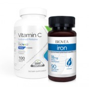 VITAMIN C (Sustained Release) & IRON VALUE PACK