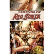 Legends of Red Sonja by Valentine De Landro