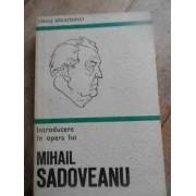 Introducere In Opera Lui Mihail Sadoveanu - Fanus Bailesteanu