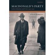 MacDonald's Party by Professor David Howell (Ar