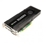 PNY NVIDIA QUADRO K5000 Carte Graphique Professionnelle 4 Go GDDR5 PCI-Express 2 x DP + 2 x DVI + Stereo (VCQK5000-PB)