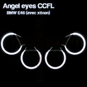4 Angel eyes bmw e46 CCFL xenon blanc 6000K