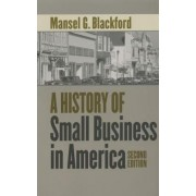 A History of Small Business in America by Mansel G. Blackford
