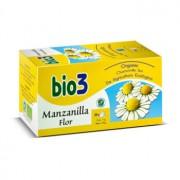 BIO3 CAMOMILA FLOR BIOLÓGICA 25 Infusões de 1g
