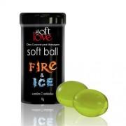 Bolinha Funcional Fire e Ice 8gr Soft Love