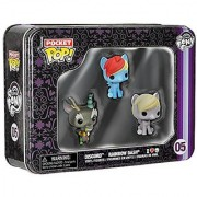 Funko My Little Pony Pocket Pop! Mini Vinyl Figure Tin (3-Pack)