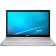 "Notebook Asus N752VX, 17.3"" Ultra HD, Intel Core i7-6700HQ, GTX 950M-4GB, RAM 16GB, HDD 1TB + SSD 256GB, FreeDOS"