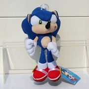 Sonic the Hedgehog Plush 7.9 Inch / 20cm Blue Sonic Character Doll Stuffed Animals Figure Soft Anime Collection Toy