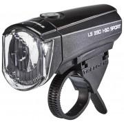 Trelock LS 350 I-GO Frontscheinwerfer schwarz Batteriebeleuchtung vorne